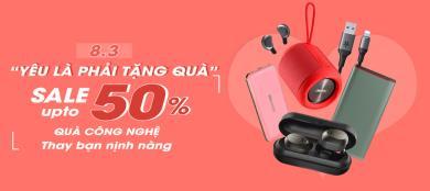 """""""Yêu là phải có quà"""" - Sale up to 50% nhân dịp 8/3"""