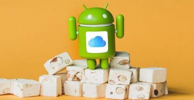 Thao tác đồng bộ dữ liệu từ iCloud qua thiết bị Android