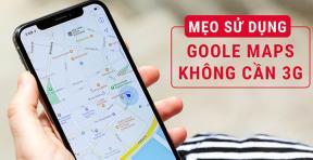 Hướng dẫn dùng Google Maps không cần Wifi, 3G