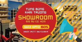 TƯNG BỪNG KHAI TRƯƠNG SHOWROOM TOP CITY 915 ÂU CƠ, HCM - NHẬN KM KHỦNG